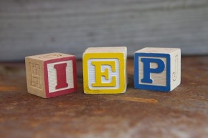 Building Blocks that Spell IEP